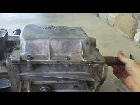 Shifting CJ Borg Warner SR4 Transmission - YouTube