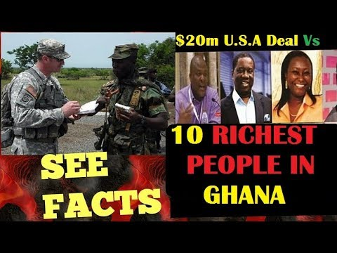 GHANAIANS COMPARING THE Ghana Rich List With The $20m U.S. Military Deal - Evangelist Addai