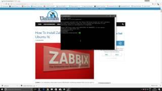 instalacion Zabbix 3 0 2
