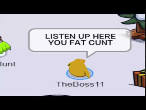 LISTEN UP HERE YOU FAT C*NT
