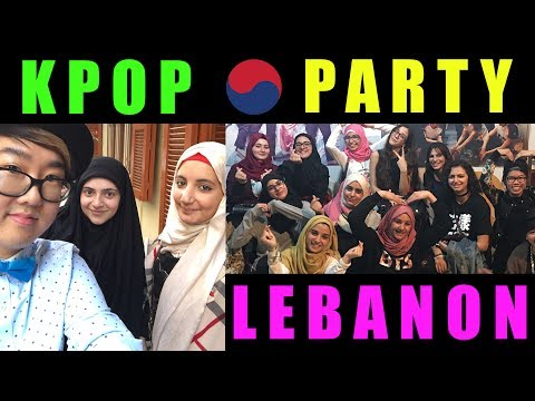 KPOP PARTY LEBANON | The Daily Oppa