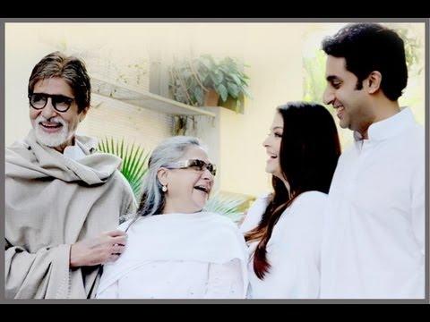 Aishwarya Rai, Abhishek, Jaya and Amitabh Bachchan support girl child through Plan India