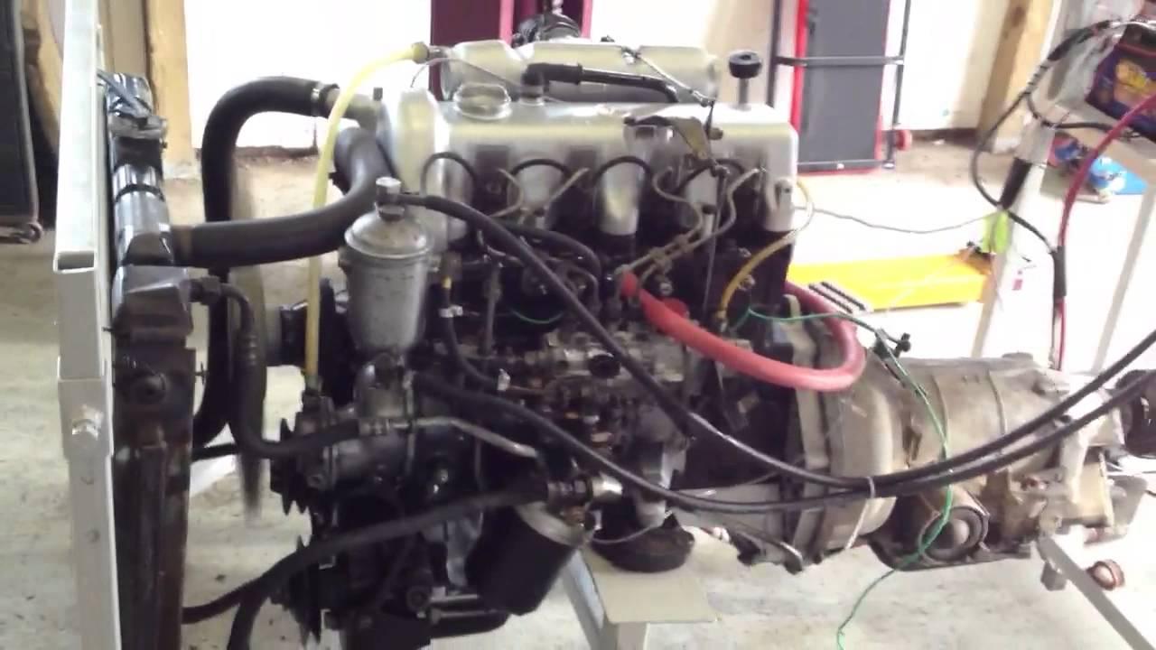 Mercedes om 616 diesel engine youtube for Mercedes benz marine engines