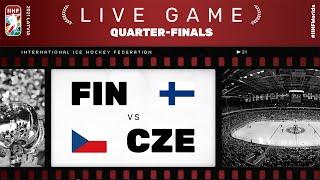 Finland – Czech Republic | Live | QUARTER-FINAL | 2021 IIHF Ice Hockey World Championship