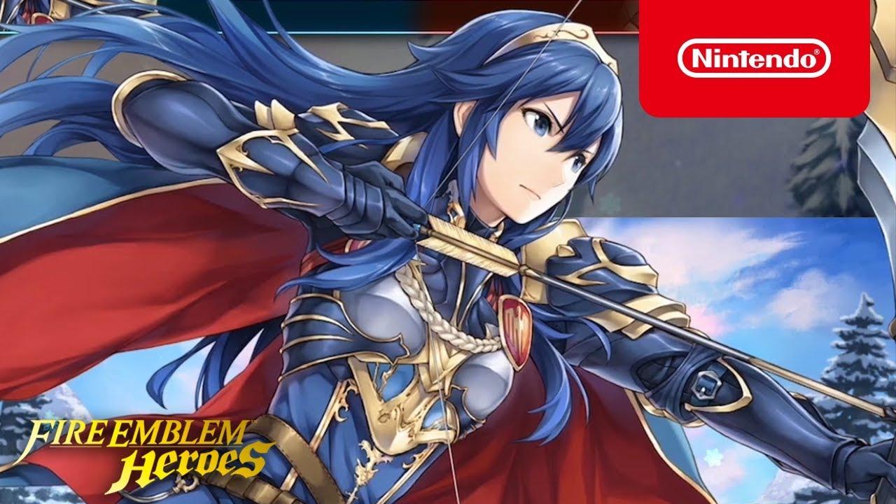 Fire Emblem Heroes Legendary Hero Lucina Glorious Archer Youtube