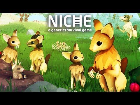 видео: МОЯ СОБСТВЕННАЯ ПОПУЛЯЦИЯ ► Niche - a genetics survival game