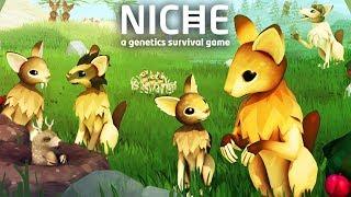 МОЯ СОБСТВЕННАЯ ПОПУЛЯЦИЯ ► Niche - a genetics survival game