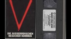 V - Die außerirdischen Besucher kommen - Videothek Promo VHS (German Teaser / Trailer) deutsch