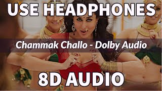 Chammak Challo   8D Surround Audio   Heavy Bass Boosted   AKON, SRK   IMPULSE MUSIC   RA.ONE