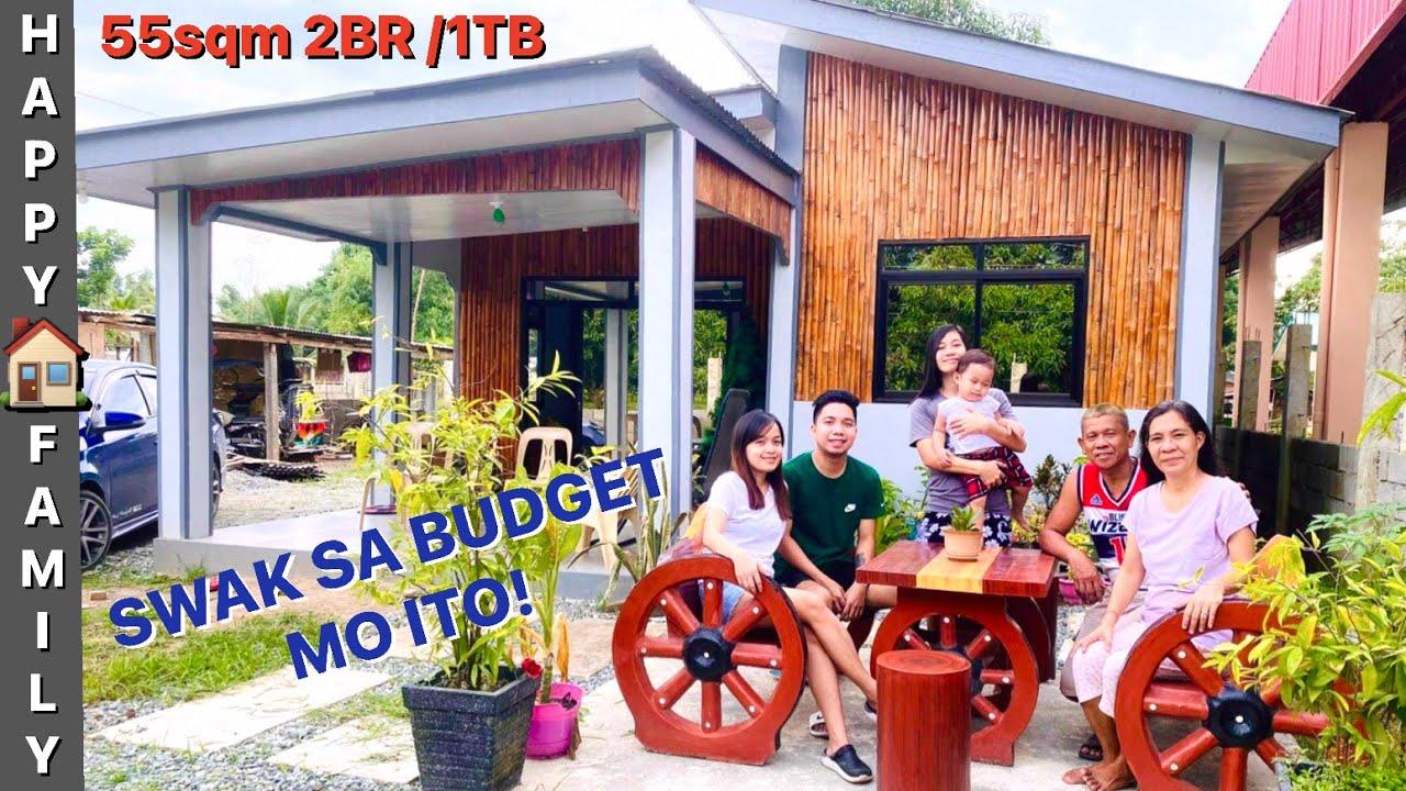 Download Ang Ganda nito,MODERN Half CONCRETE HOUSE 55sqm 2BR/1CR w/ACTUAL VIDEO Ang Ganda nito.