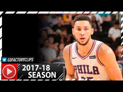 Ben Simmons Full PS Highlights vs Heat (2017.10.13) - 19 Pts, 7 Reb, 5 Ast