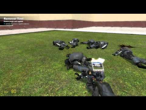 How to get rid of corpses in gmod