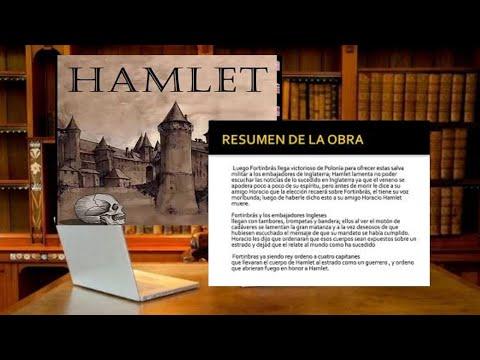 Hamlet Análisis y Resumen de la Obra  Autor  Williams Shakespeare