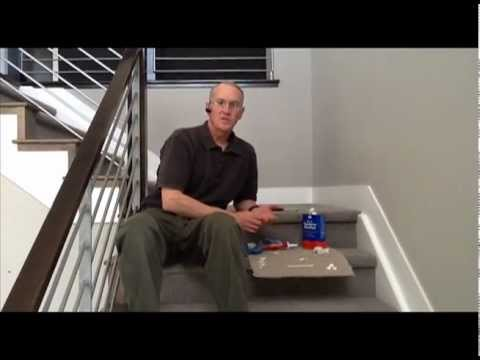 Infinity Home Collection: Caulking Tips- Stairs