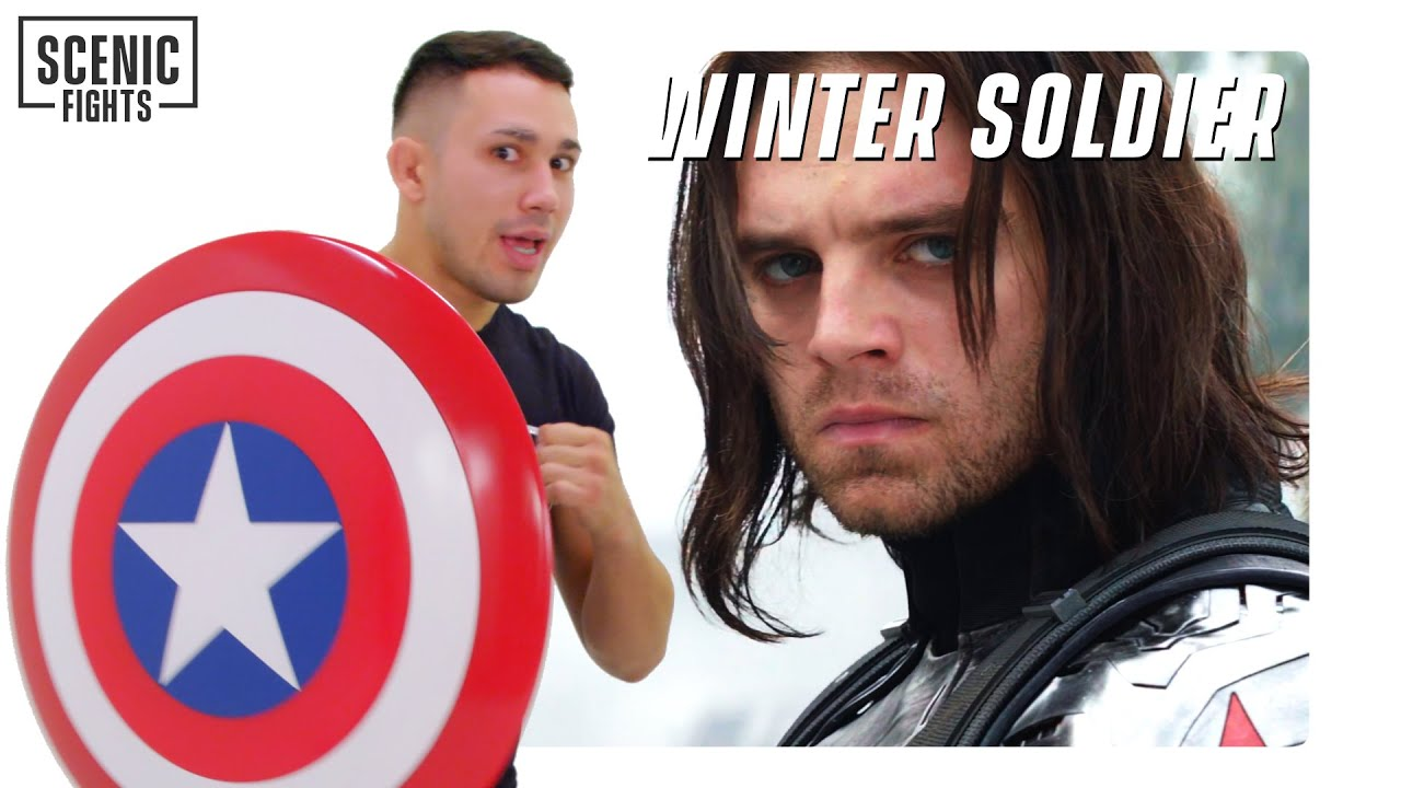 MMA Fighter Breaks Down Captain America and The Winter Soldier Highway Fight | Scenic Fights