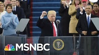 President Donald Trump's First 100 Days In 360 Seconds | MSNBC