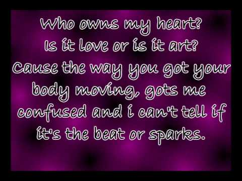 Who Owns My Heart - Miley Cyrus - Lyrics On Screen