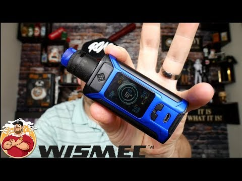 Ravage 230w TC Box Mod Kit w/ Gnome Evo Tank By Wismec/Sinuous Review
