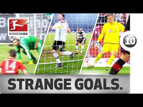 Top 10 strange goals of 2015/16