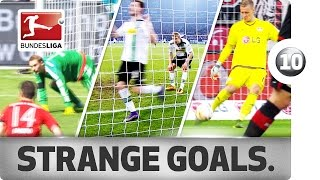Top 10 Strange Goals of 2015/16