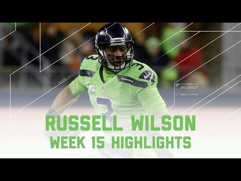 Russell Wilson Tosses 3 TDs! | Rams vs. Seahawks | NFL Week 15 Player Highlights