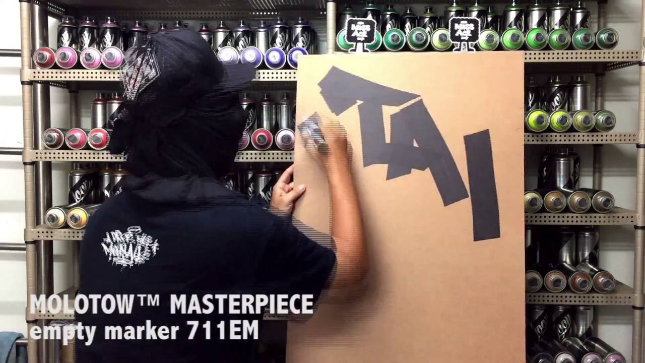 60 mm large Neuf dans sa boîte! Molotow 711EM-vide Masterpiece Marker Pen