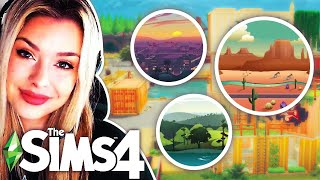 The Sims 4 But Every Room Is A Different Sims 4 World 🌲 SIMS 4 BUILD CHALLENGE