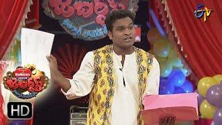 Racha Ravi Performance | Jabardasth | 5th January 2017| ETV  Telugu