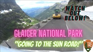 Glacier National Park, Going to the Sun Road in Glacier National Park