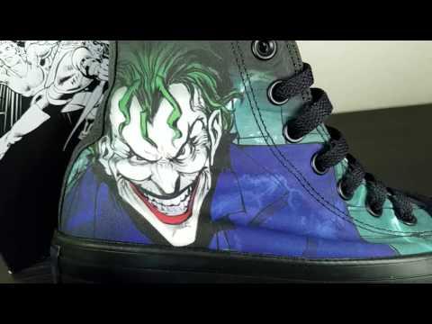 Converse All Star Hi DC Comics Joker Sneakers