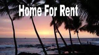 Hawaii Home For Rent Kona Hawaii