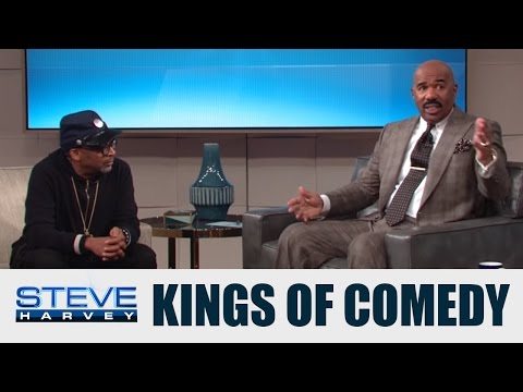 The Kings of Comedy Tour was huge! || STEVE HARVEY