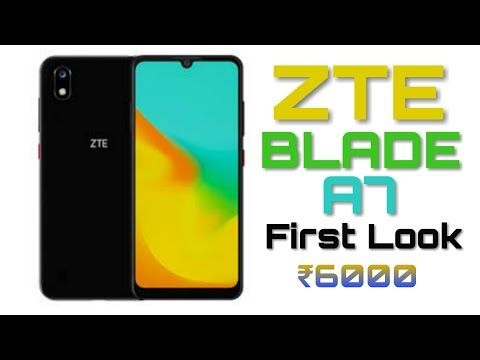 ZTE Blade A7 - 2019 Full Specifications, Price, Release Date, Features, Review ||