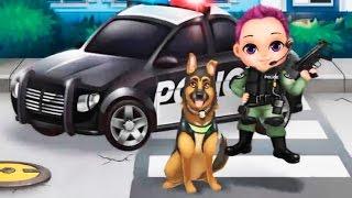 Грабители хотят нас обворовать Мульт для детей Мальчик полицейский и собака ловим бандитов #2