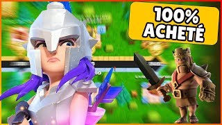 DECOUVERTE / GEMME LE PASS OR CLASH OF CLANS