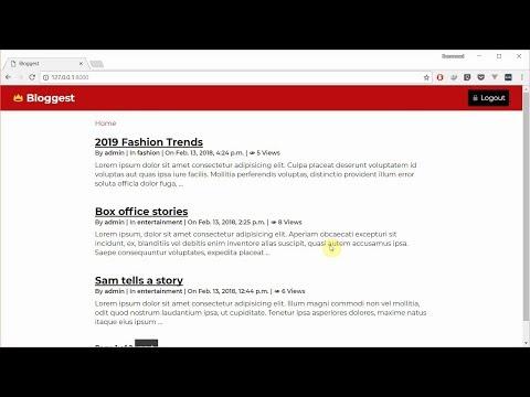 A Better DetailView - Try Django Class Based Views by building a blog - Part 3