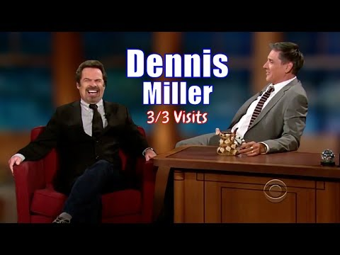 Dennis Miller - Craig HATES Politics On His Show - 3/3 Visits In Chronological Order