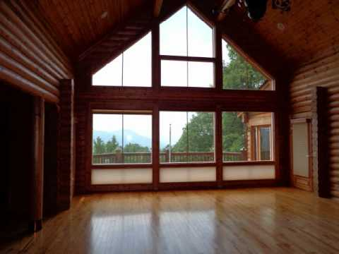 log home for sale in the north carolina mountains near asheville nc rh youtube com homes for sale nashville north carolina homes for rent in nashville north carolina