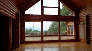 Log Home for sale in the North Carolina Mountains near Asheville, NC