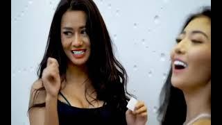 2 LADIES HOT SEXY SAMPAI BU6*L - CHALLENGE TEBAK KATA KALAH BUKA BAJU - TEGANG MERIANG #18+++