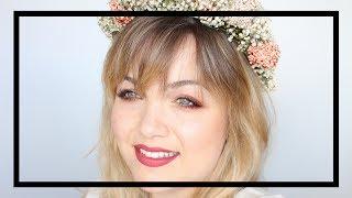 Maquillaje Boho - Chic · Pecas + Corona de flores   💄Lucía Puebla💋