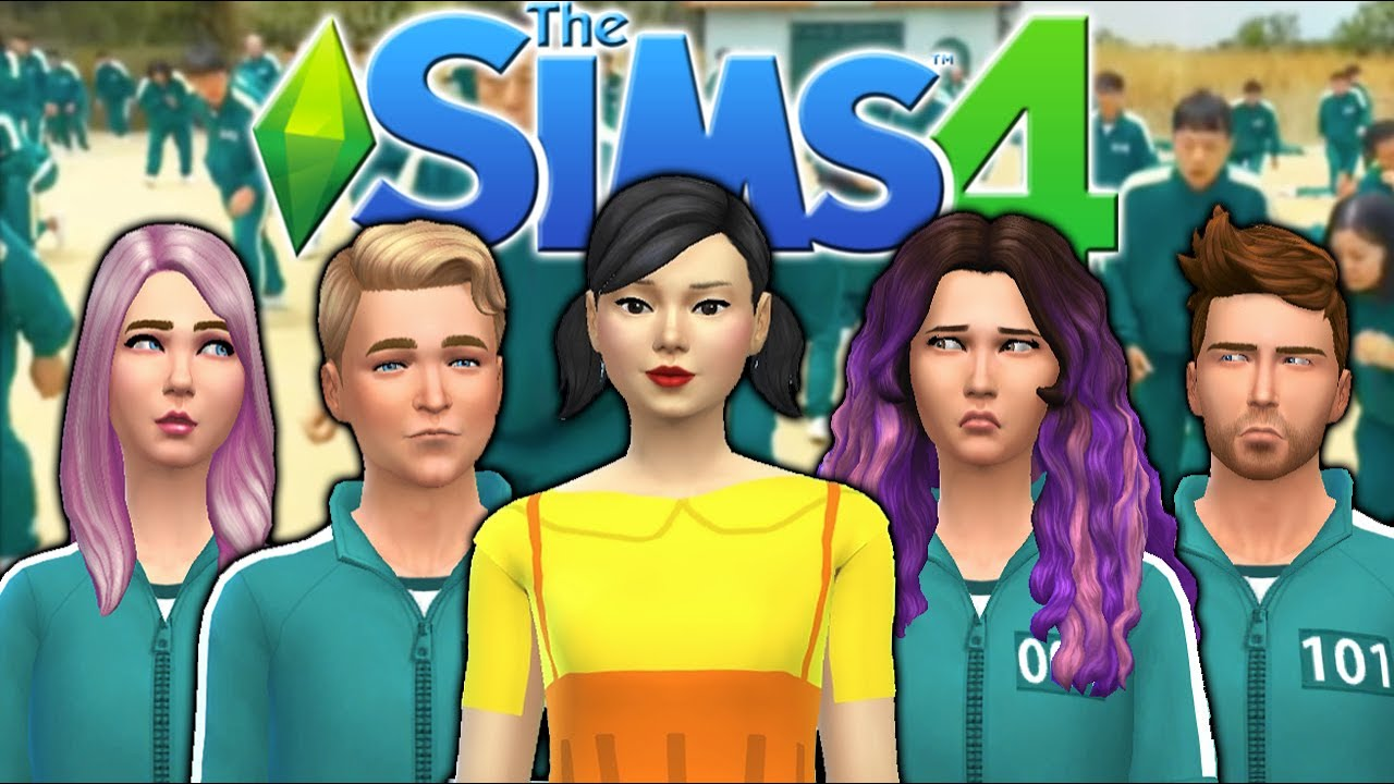Download The Sims 4 ...but it's Actually Squid Game