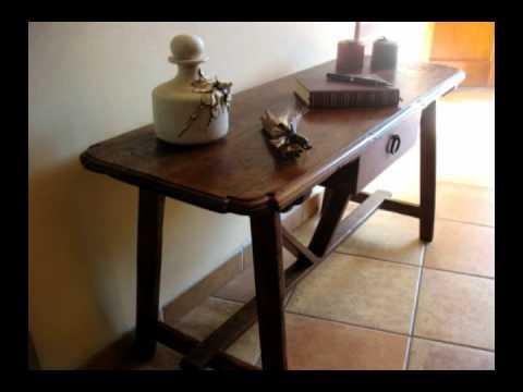 Mobili rustici e in stile eredi caselli antonio tavolino for Mobili rustici