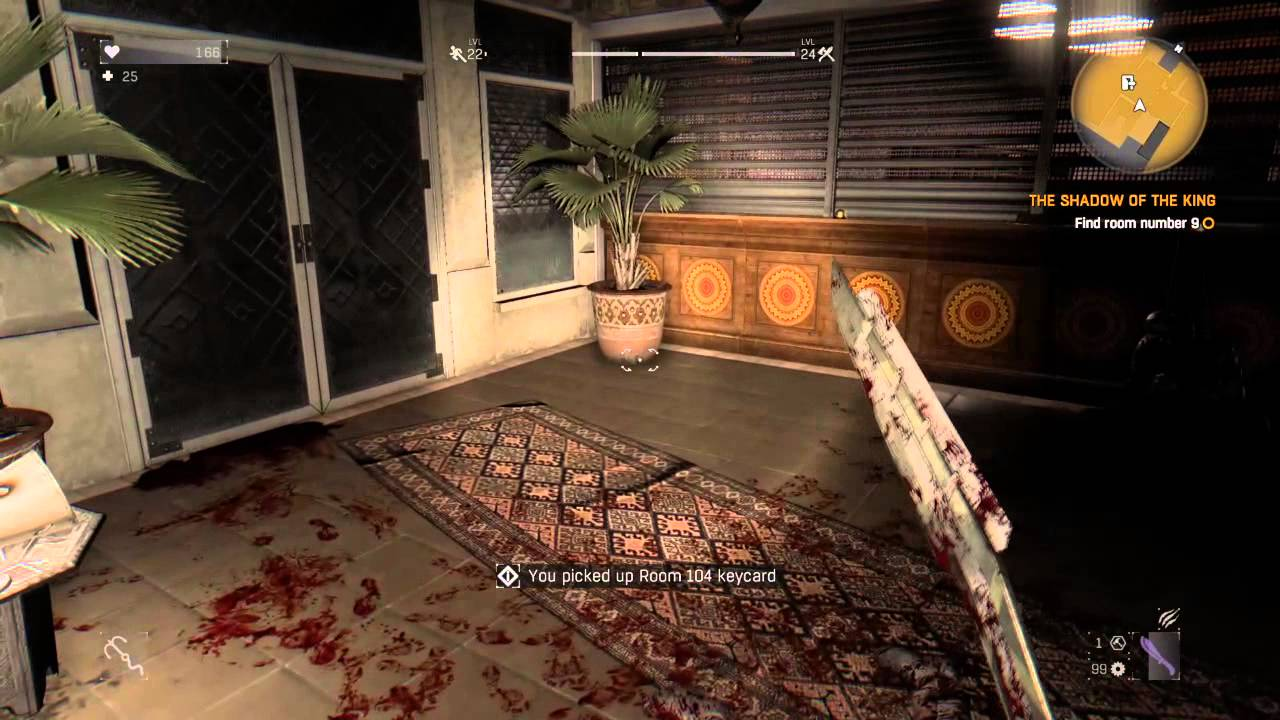 Dying Light THE SHADOW OF THE KING Find Room Number 9