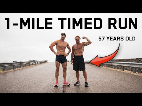 1-Mile Run For Time With My 57 Year Old Dad