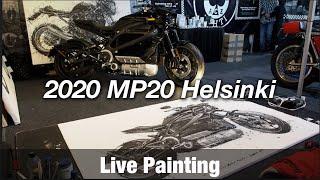 Motorcycle Art Part 92 / 2020 MP20 Helsinki Motorcycle Show