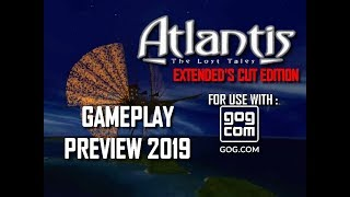 Atlantis The Lost Tales NEW VERSION 2019 Extended's Cut Gameplay PREVIEW