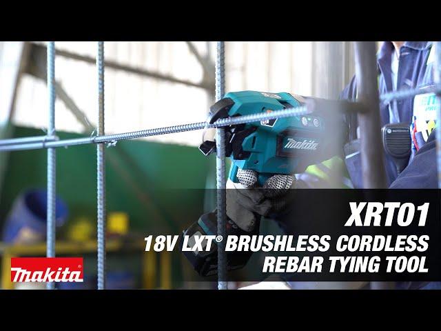 Makita 18V LXT Rebar Tying Tool (XRT01)