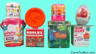 Lalaloopsy Minis Tinies Num Noms 3 2 Trolls Surprise Tin Roblox Hello Sanrio Barbie Fashems Toys