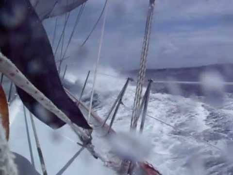 Caribbean Sailing Repo Trip SXM   Grenada Mar 2010 Very rough weather Guadeloupe to St Lucia